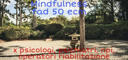 Corso Mindfulness fad da 50 ecm per figure sanitarie